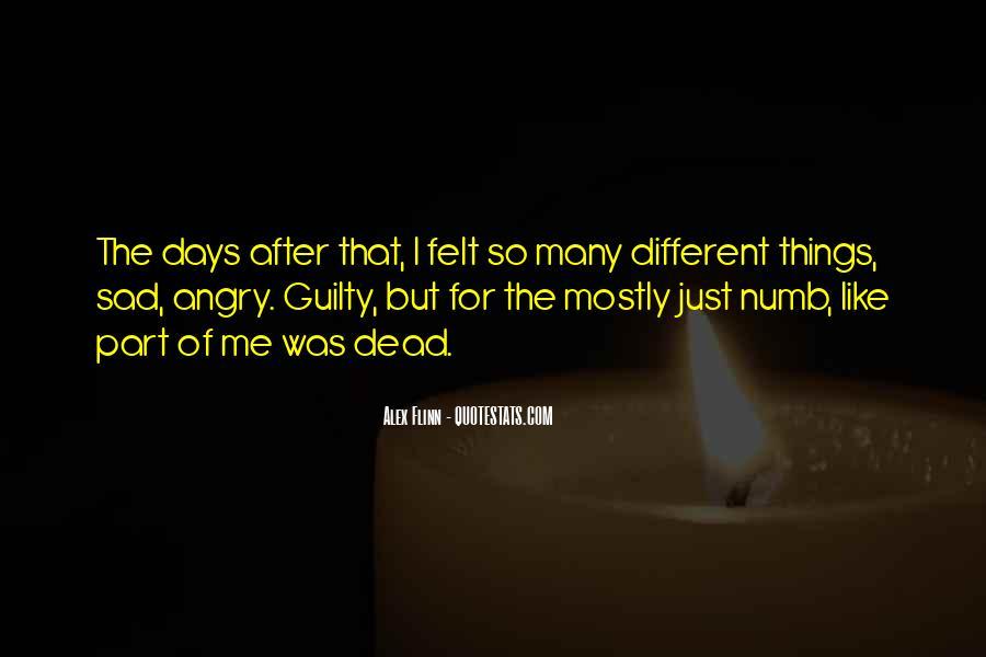 I'm Numb Quotes #364755