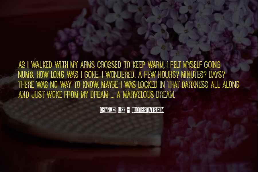 I'm Numb Quotes #381139