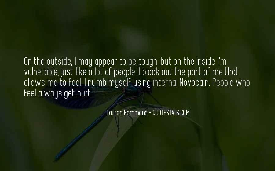 I'm Numb Quotes #516142