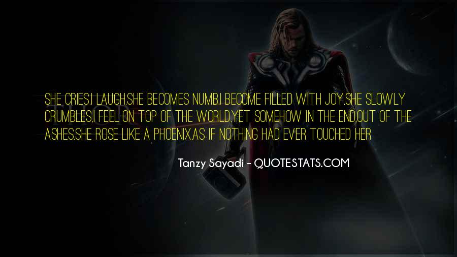 I'm Numb Quotes #519071