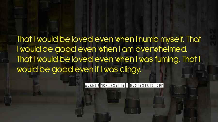 I'm Numb Quotes #534449
