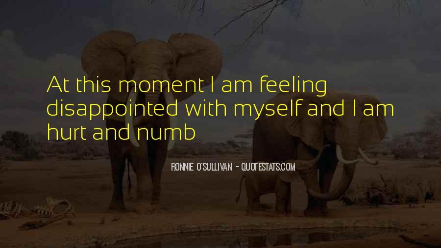 I'm Numb Quotes #74561