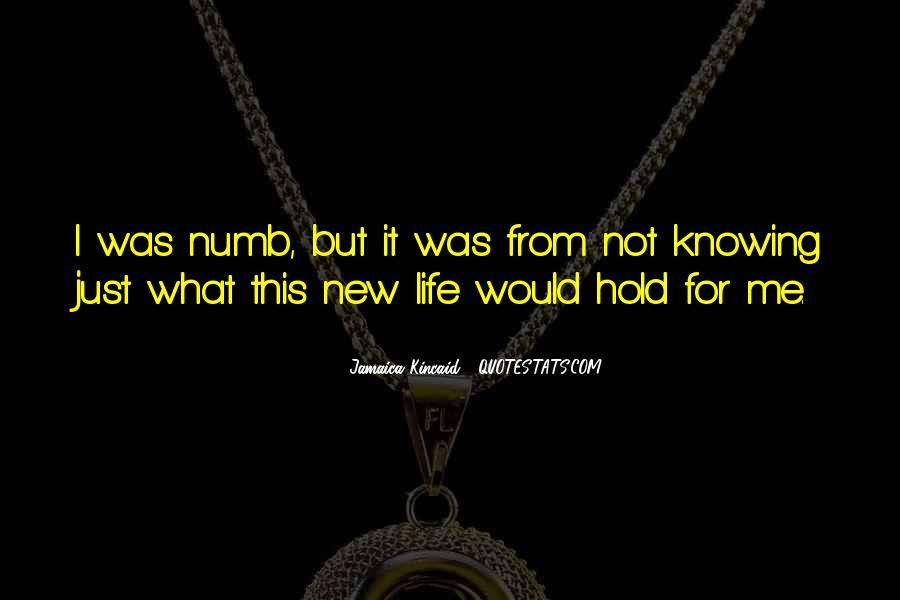 I'm Numb Quotes #808803