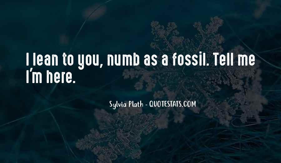 I'm Numb Quotes #963192