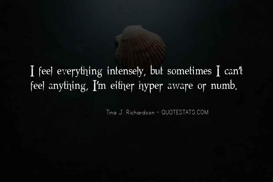 I'm Numb Quotes #978240