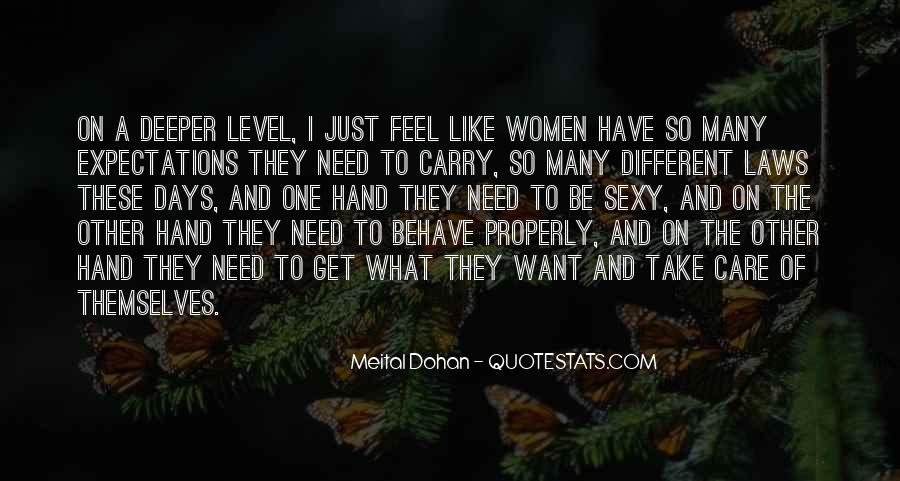 I'm On A Different Level Quotes #1403002
