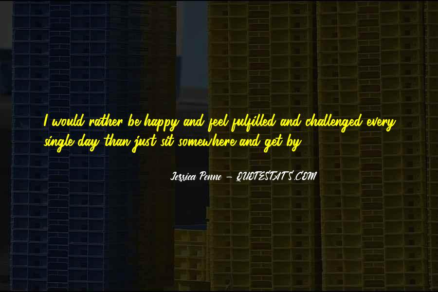 I'm Single And Very Happy Quotes #493014