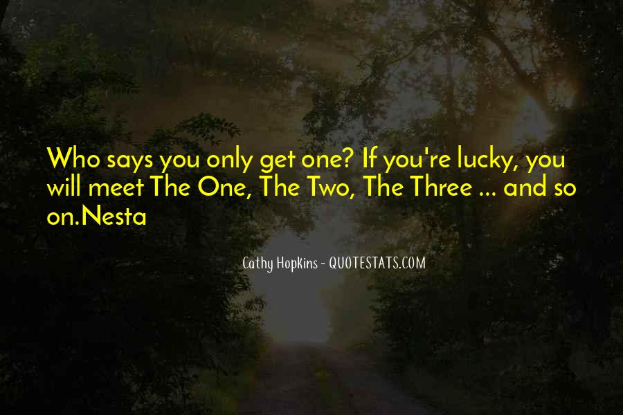 I'm So Lucky To Meet You Quotes #1614769