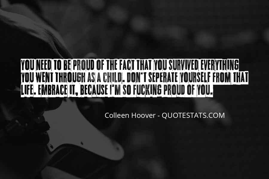 I'm So Proud Of You Quotes #1172714