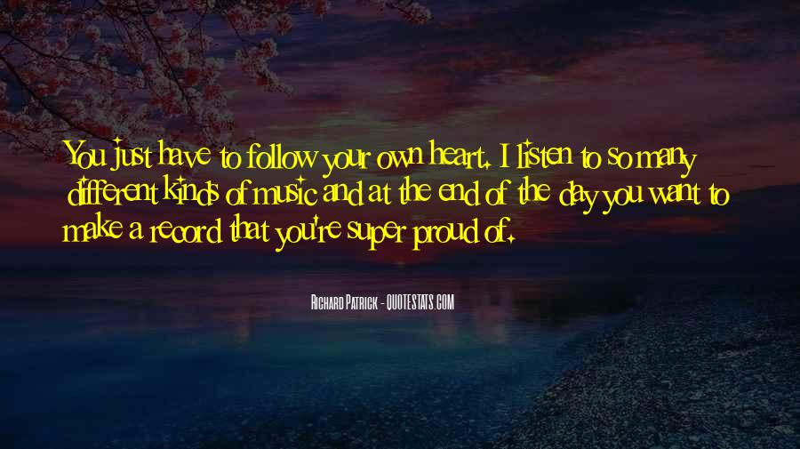 I'm So Proud Of You Quotes #564661
