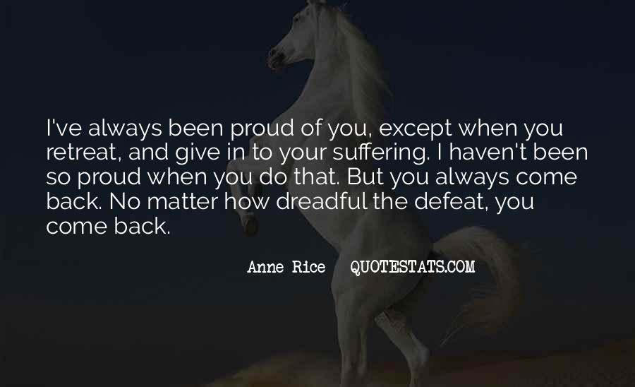 I'm So Proud Of You Quotes #685750