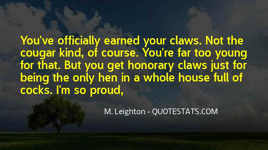I'm So Proud Of You Quotes #786371