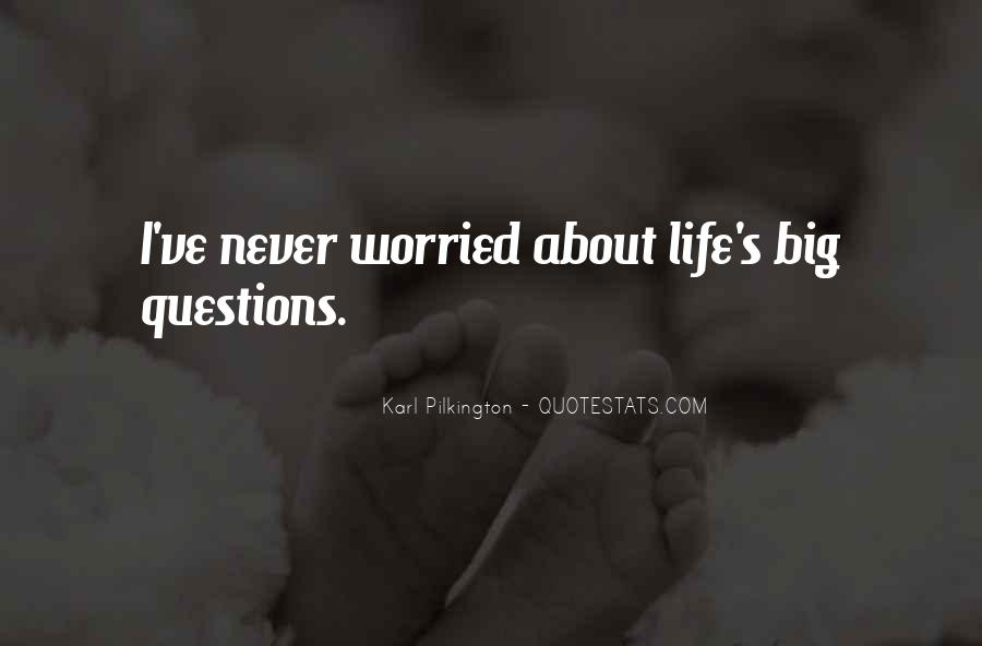 I'm So Worried About You Quotes #68303