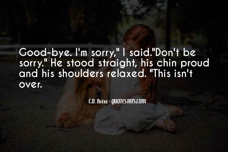 I'm Sorry Break Up Quotes #930053