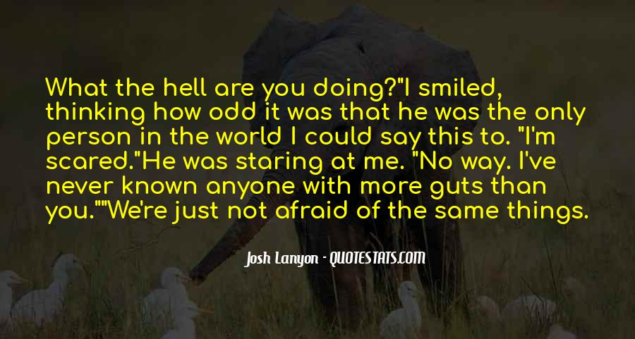 I'm Staring At You Quotes #1237086