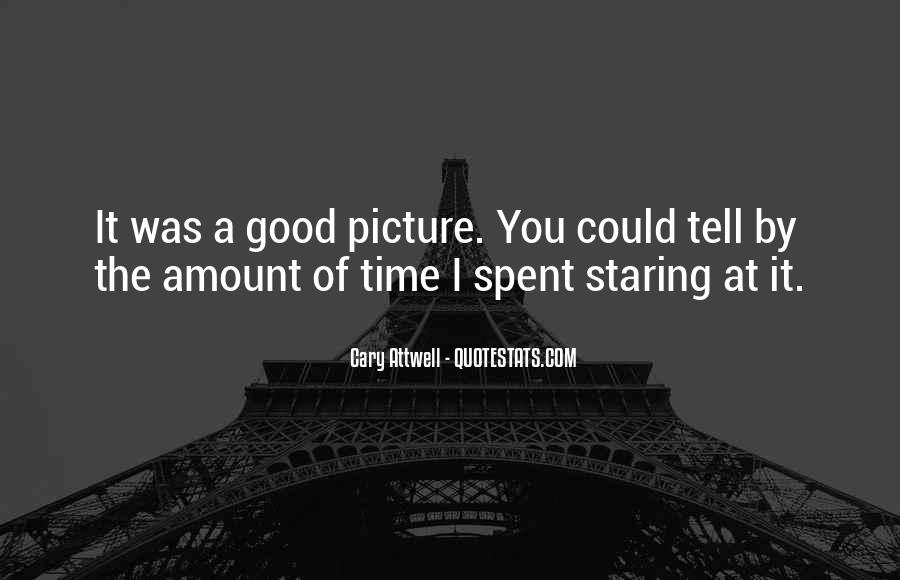 I'm Staring At You Quotes #506313