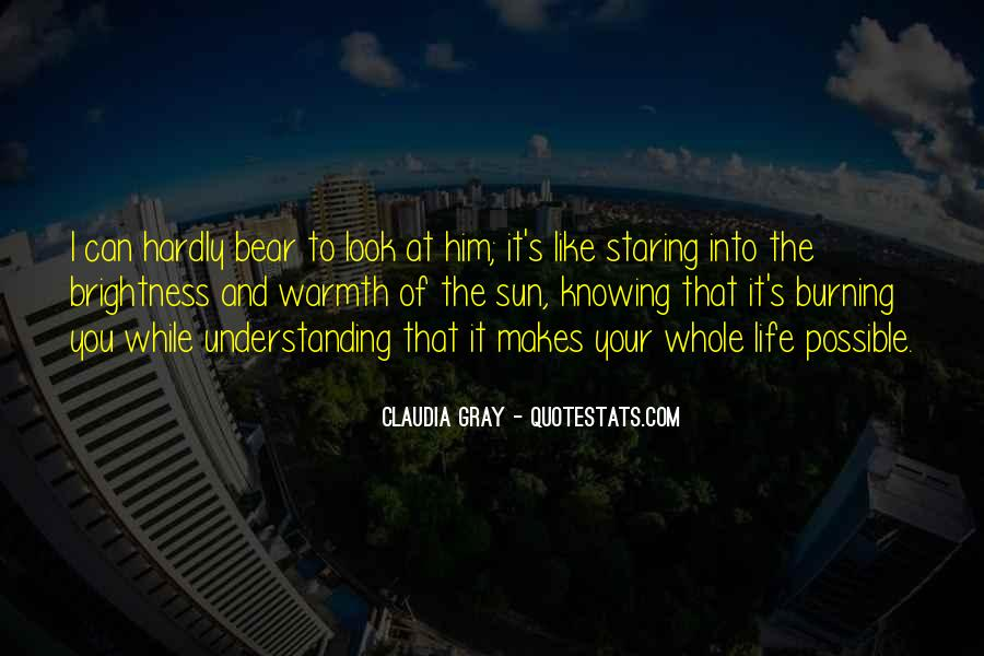 I'm Staring At You Quotes #992624