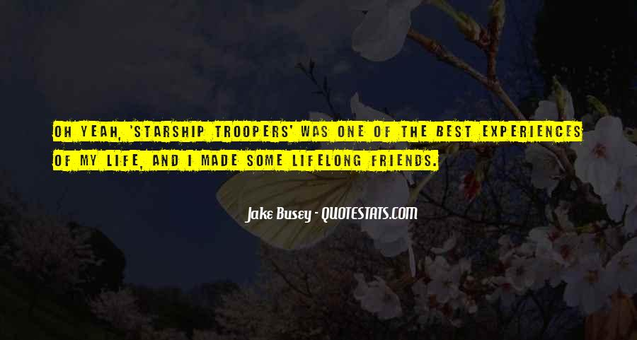 I'm With Busey Quotes #691892