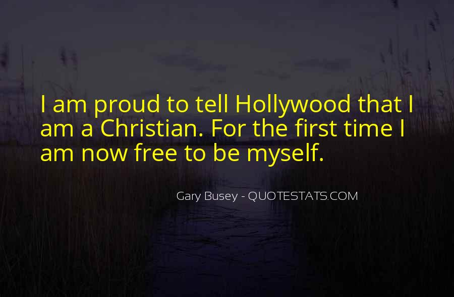 I'm With Busey Quotes #693558