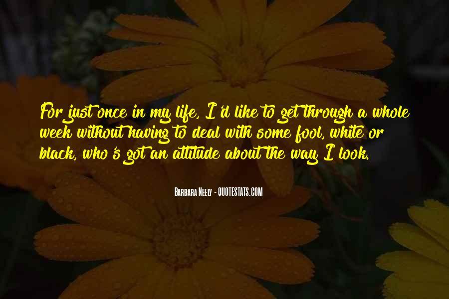 I've Got Attitude Quotes #1159059