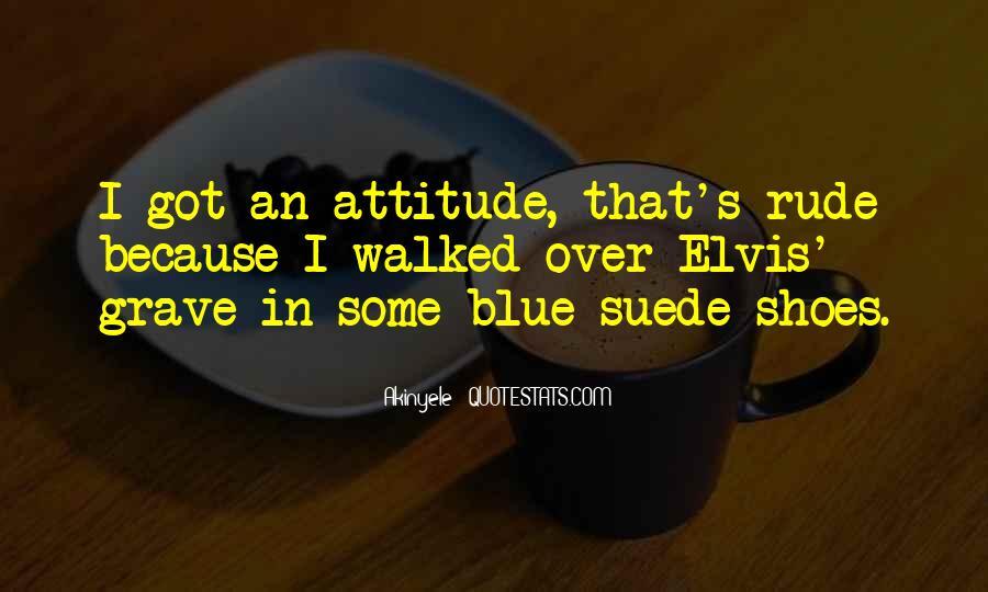 I've Got Attitude Quotes #983453