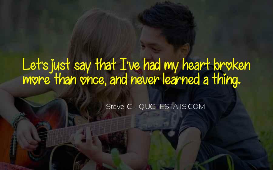 I've Never Had Quotes #48420