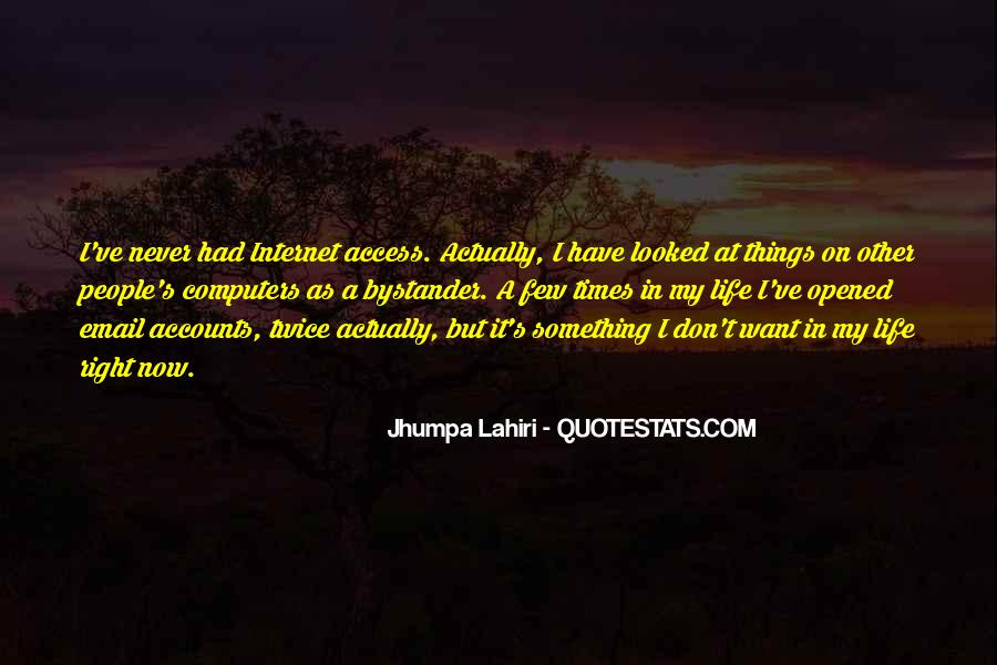 I've Never Had Quotes #92652