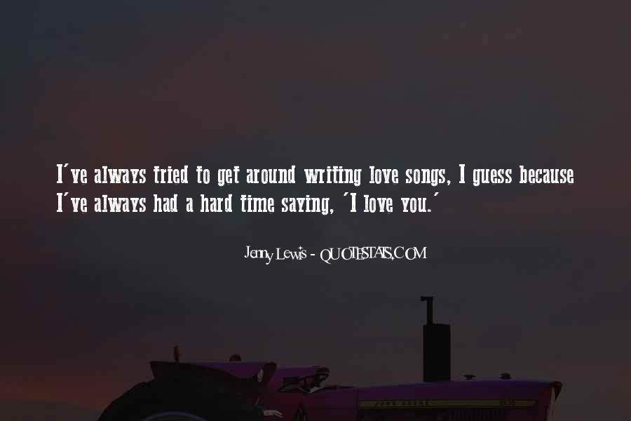 I've Tried Love Quotes #761809