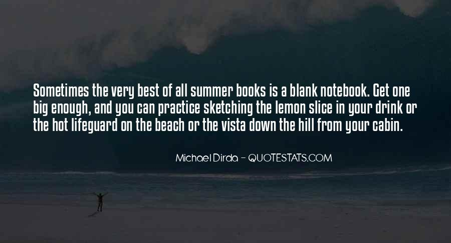 Quotes About The Beach Summer #1086170