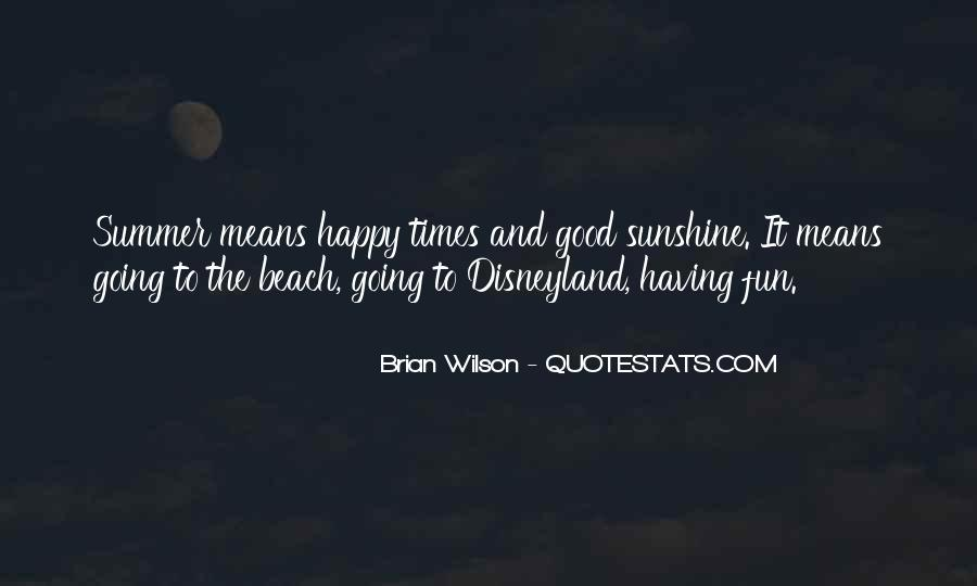 Quotes About The Beach Summer #1203102