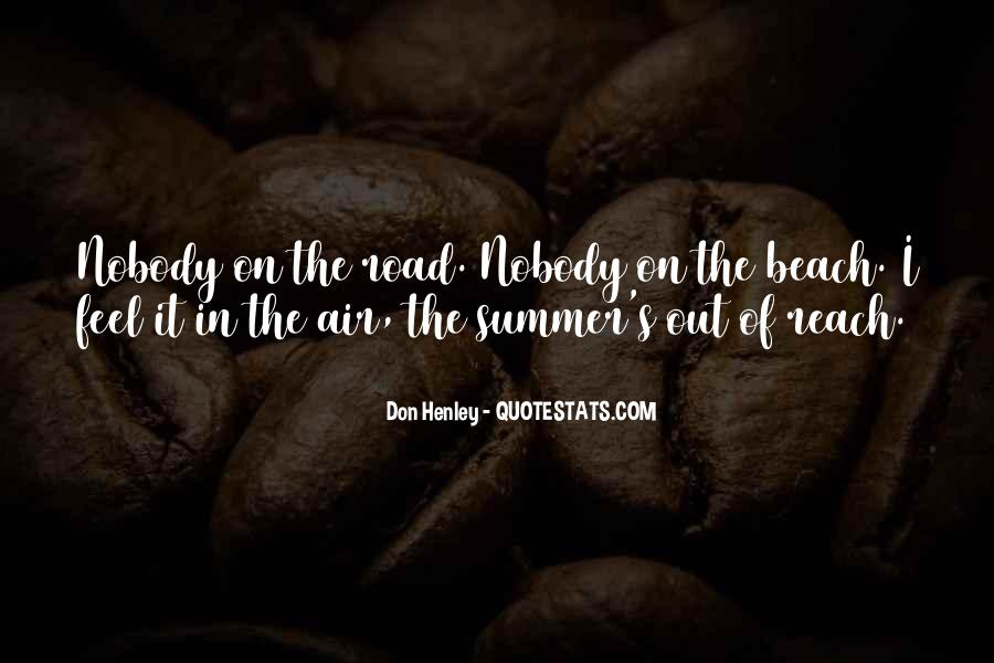 Quotes About The Beach Summer #235528