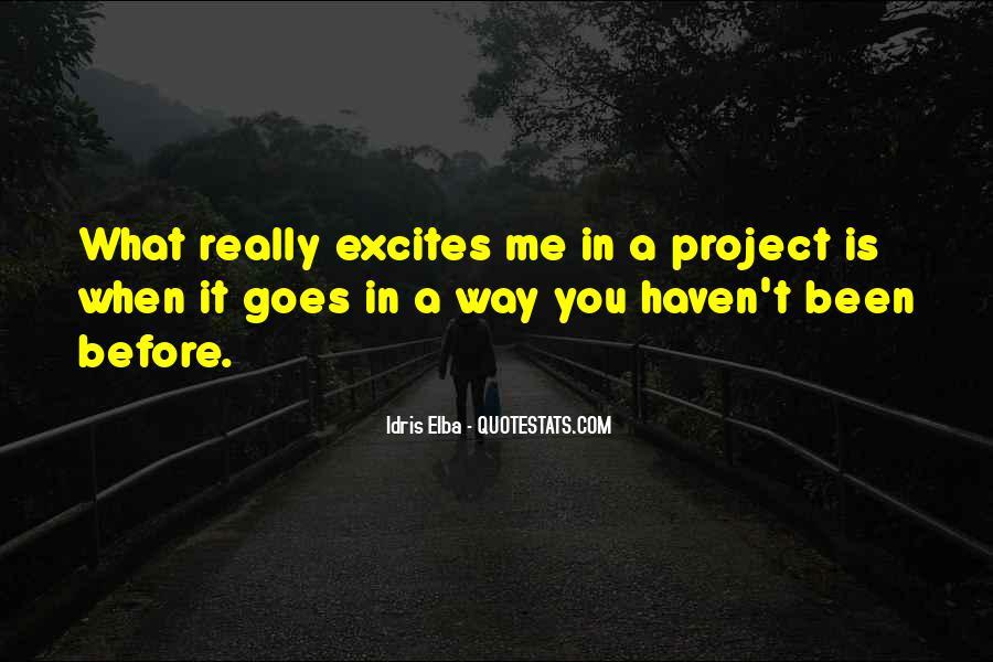 Idris Quotes #1385616