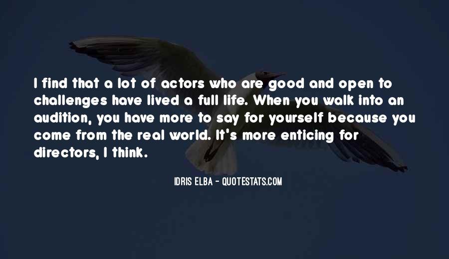 Idris Quotes #877531