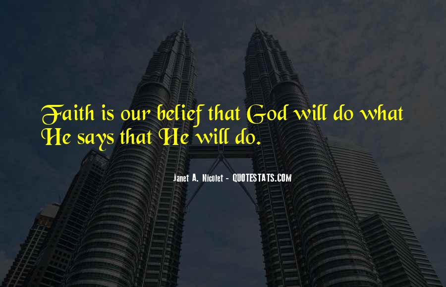 If God Says Yes Quotes #13820