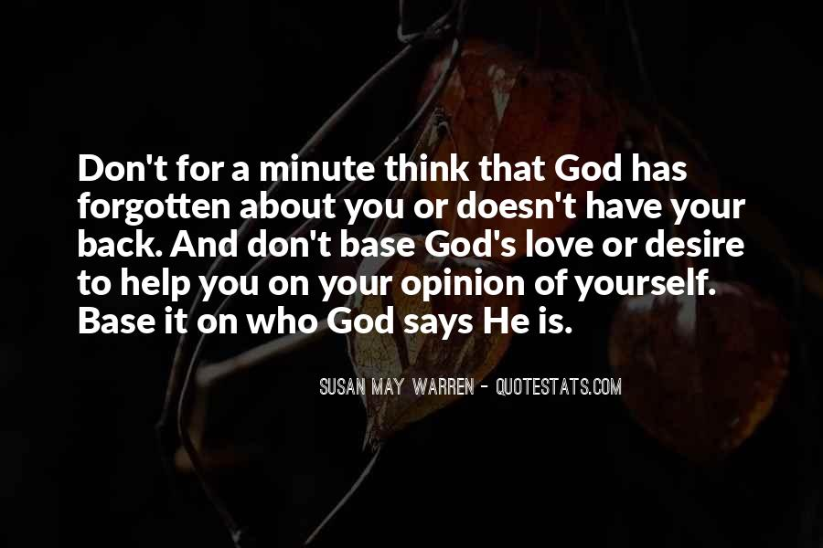 If God Says Yes Quotes #27941