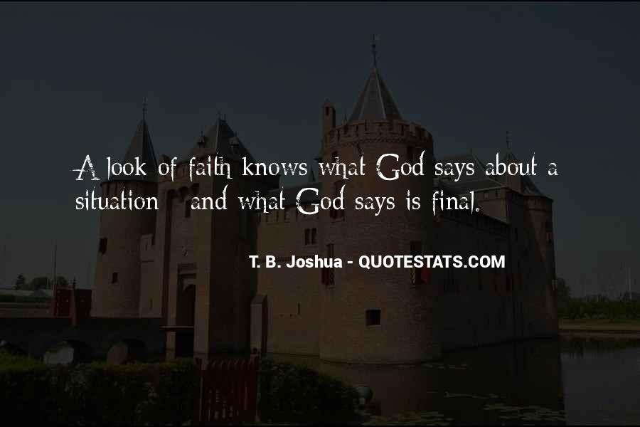 If God Says Yes Quotes #50507