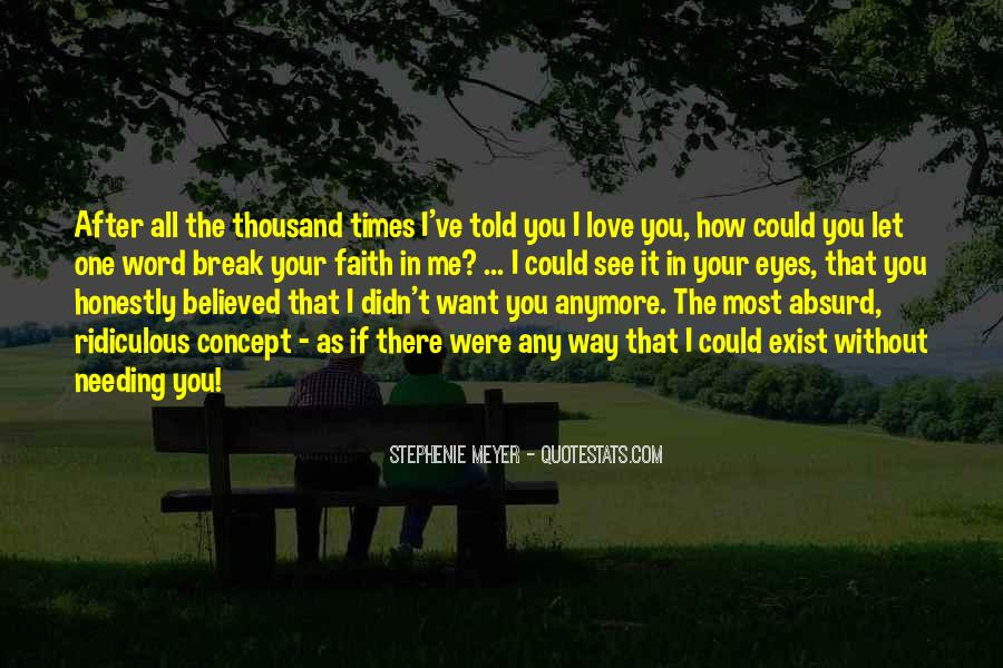 If I Could Love You Quotes #446085
