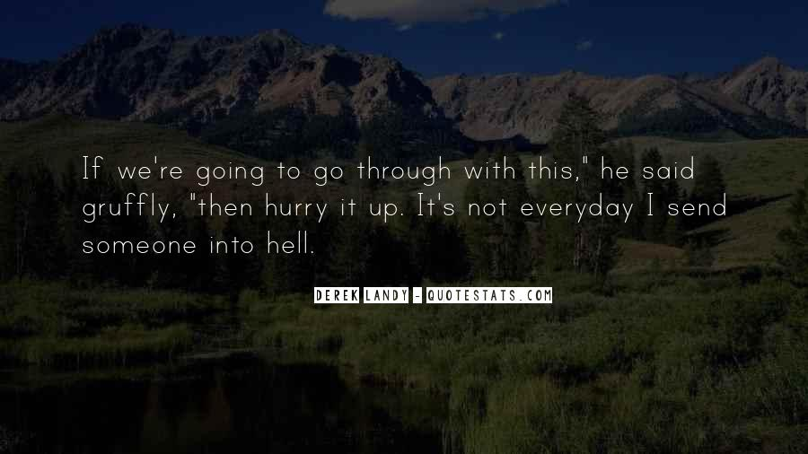 If I Going To Hell Quotes #121257