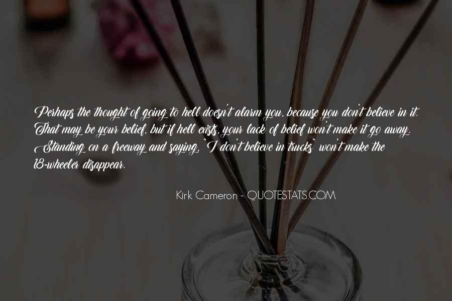 If I Going To Hell Quotes #1510523