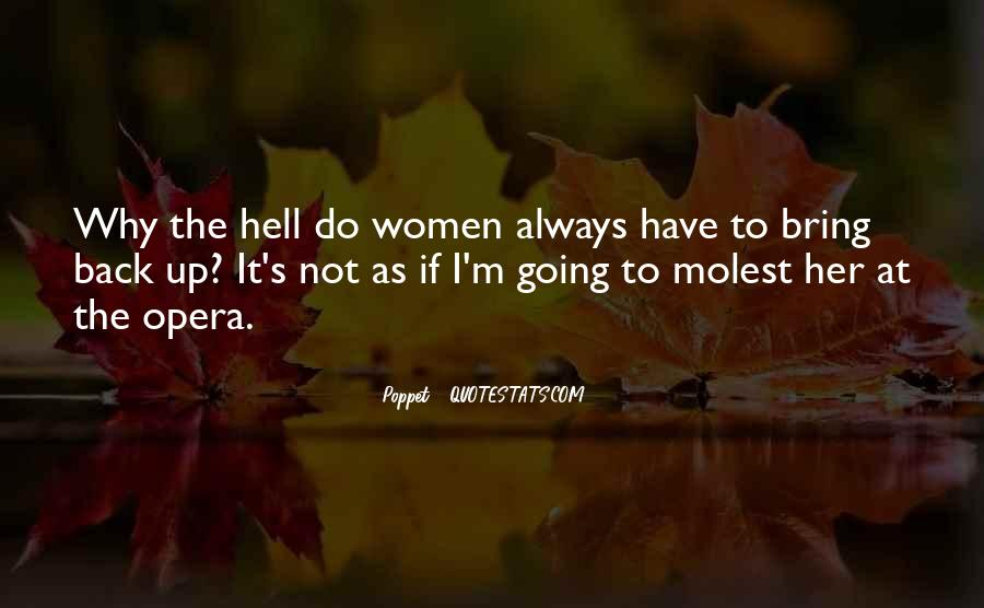 If I Going To Hell Quotes #1706655