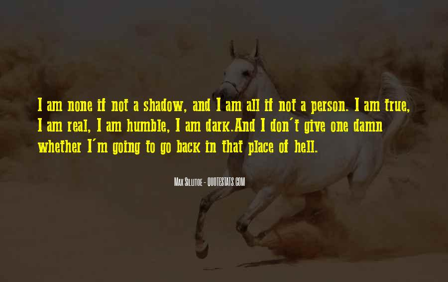 If I Going To Hell Quotes #66914