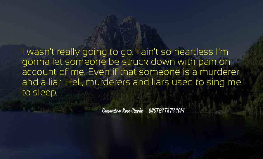 If I Going To Hell Quotes #865736