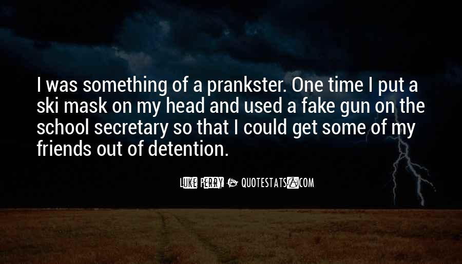If I Had A Gun Quotes #12177