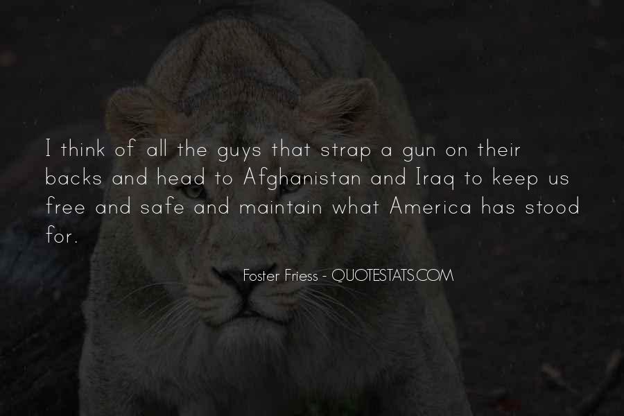 If I Had A Gun Quotes #18993