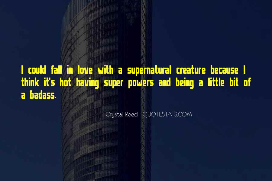 If I Had Super Powers Quotes #192206