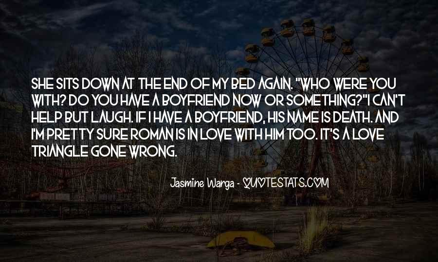 If I Were Gone Quotes #10815