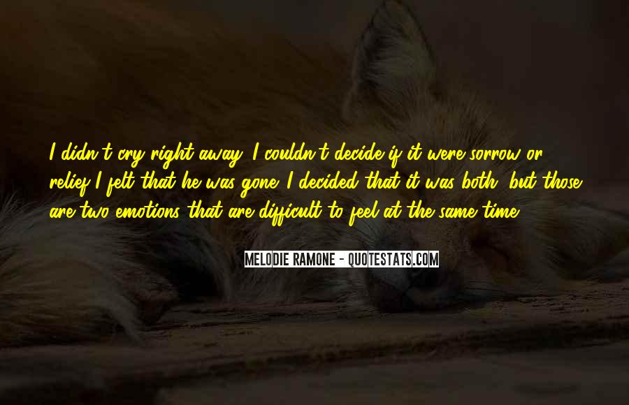 If I Were Gone Quotes #1246984