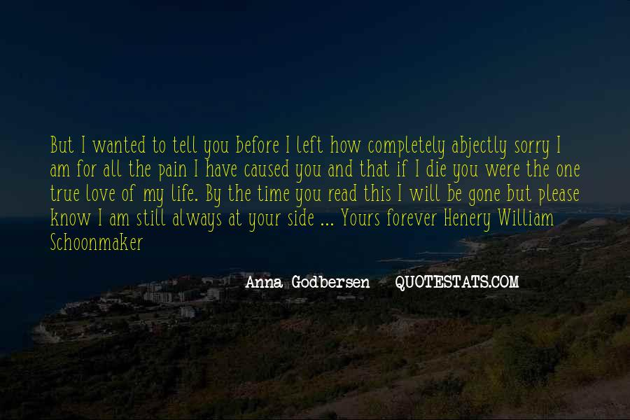 If I Were Gone Quotes #1750872