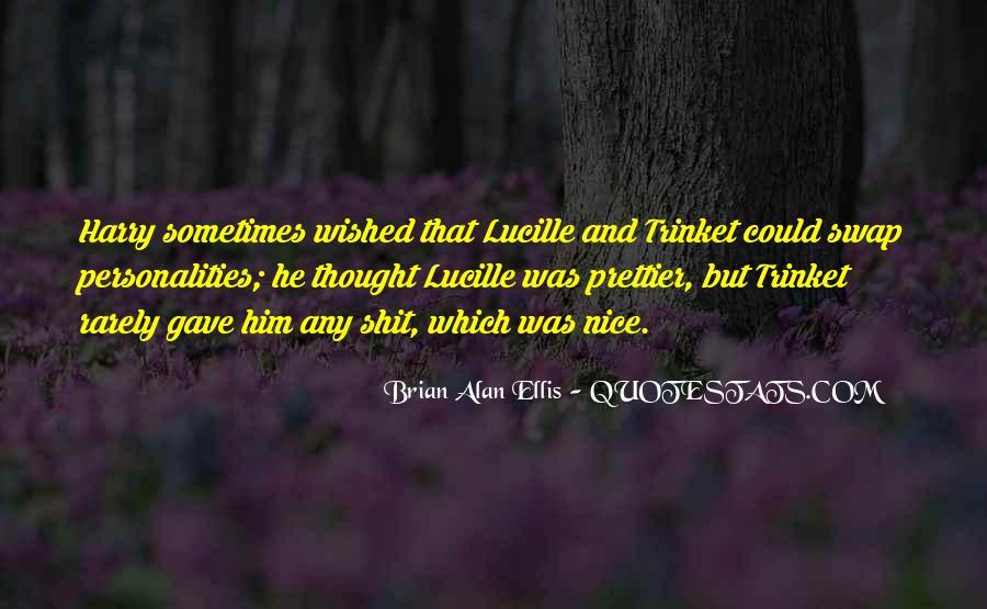 If I Were Prettier Quotes #306763