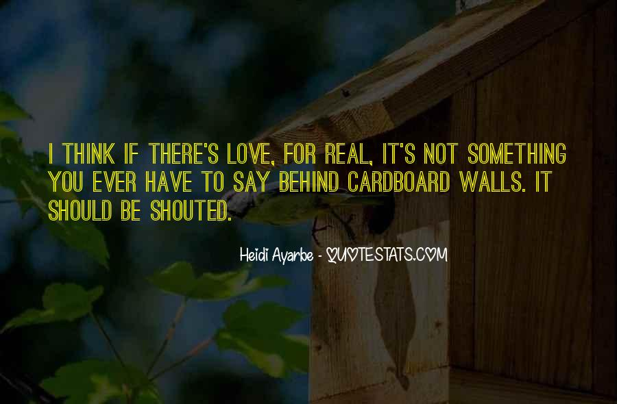 If It Real Love Quotes #249900